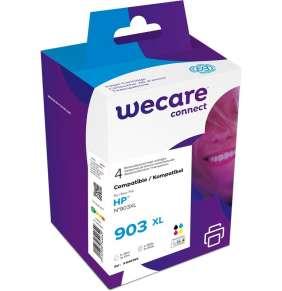 WECARE ARMOR cartridge pro HP Officejet Pro 6960, 6961, 6962, 6963, 6964 (3HZ51AE), černá/black+1C+1M+1Y/HC, 1x30/3x12ml