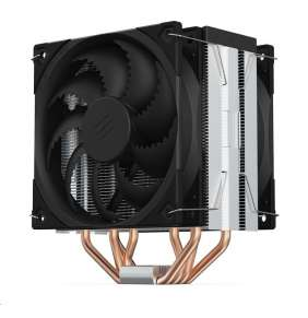 SilentiumPC chladič CPU Fera 5 Dual Fan / ultratichý/ 2x120mm fan/ 4 heatpipes / PWM/ pro Intel i AMD