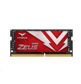 SODIMM DDR4 16GB 3200MHz, CL16, (KIT 1x16GB), T-FORCE ZEUS, Red