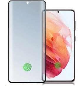 4smarts tvrzené sklo Second Glass UltraSonix pro Samsung Galaxy S21 Ultra, černá