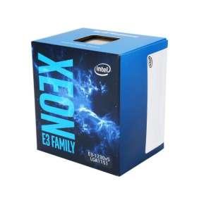 Intel® Xeon™ processor (quad core) E3-1230V5, 3.40GHz, 8M, LGA1151