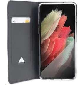 4smarts flipové pouzdro URBAN Lite pro Samsung Galaxy S21 Ultra, černá