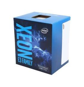 Intel® Xeon™ processor (quad core) E3-1245V5, 3.50GHz, 8M, LGA1151