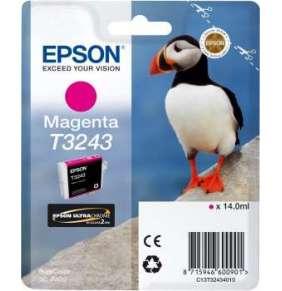 "EPSON ink bar T3243 ""Puffin"" Magenta pro SC-P400"
