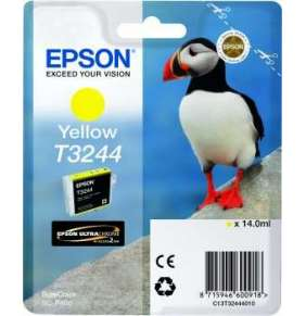 "EPSON ink bar T3244 ""Puffin"" Yellow pro SC-P400"