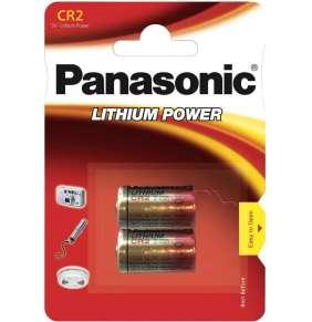 PANASONIC Lithiové - FOTO baterie CR-2L/2BP 3V (blistr - 2ks)