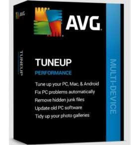 Renew AVG TuneUp MD až 10 zařízení 2Y