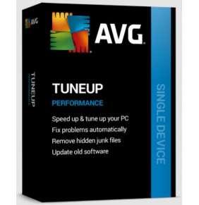 Renew AVG PC TuneUp 1 PC 2Y