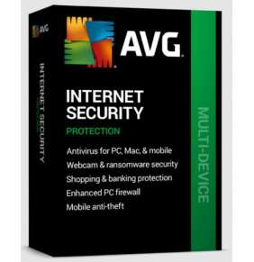 Renew AVG Internet Security  MD up to 10Lic 3Y