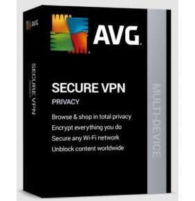 AVG Secure VPN (Multi-device, up to 10 device) 2 Years