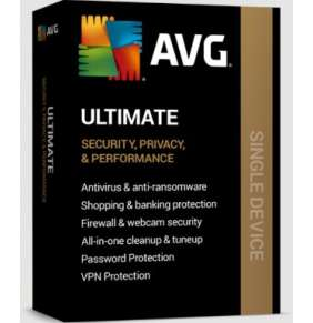 AVG Ultimate for Windows 1 PC, 1Y