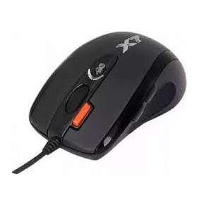 A4tech XL-750MK, OSCAR Game Laser mouse, 3600dpi, černá, USB