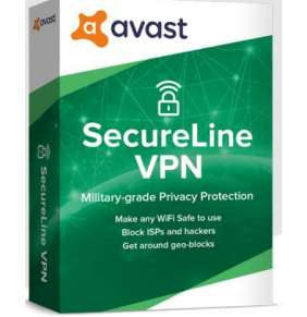 Avast SecureLine VPN Multi-device up to 10 device 3Y