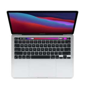 Apple 13-inch MacBook Pro: Apple M1 chip with 8-core CPU and 8-core GPU, 8GB RAM, 1TB SSD - Silver  - ENG CTO