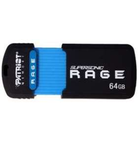 64GB Patriot SuperSonic Rage 3.0 USB až180MBs