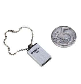 Pretec i-Disk Elite USB 2.0 32GB - stříbrný