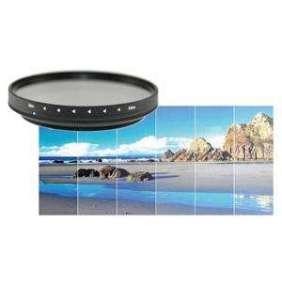 Braun ND4-400x Vario Smooth šedý filtr 58 mm  (+ redukce na 52 mm)