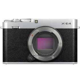 Fujifilm X-E4 - 26,1Mpx - Silver