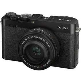 Fujifilm X-E4 + XF27MM - Black