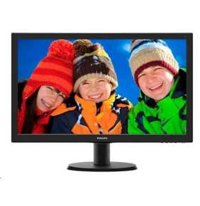 "24"" LED Philips 243V5LHSB - FHD, HDMI, DVI"