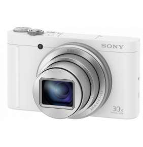 Sony DSC-WX500 bílá,18,2Mpix,30xOZ,fullHD,WiFi