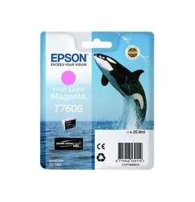 Epson T7606 Ink Cartridge Vivid Light Magenta