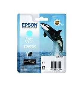 Epson T7605 Ink Cartridge Light Cyan