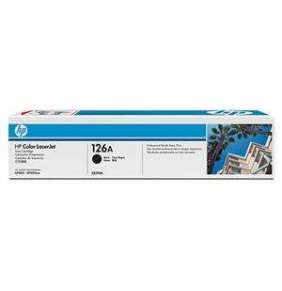 HP 126A Black LJ Toner Cart, 1 200 str, CE310A