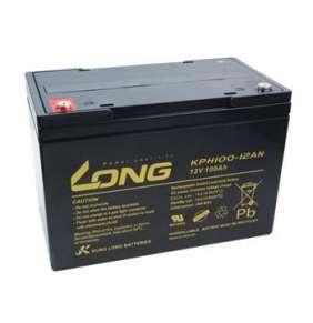 Avacom Long 12V 100Ah olovený akumulátor Deep Cycle AGM M6 (KPH100-12AN)