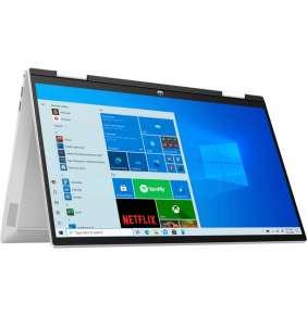 """HP Pavilion x360 15-er0006nc/ i3-1125G4/ 8GB DDR4/ 512GB SSD/Intel UHD/15,6"""" FHD matný/ dotykový/W10H/stříbrný"""