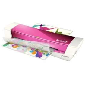 Leitz iLAM Home Office A4 teplý laminátor, WOW růžová