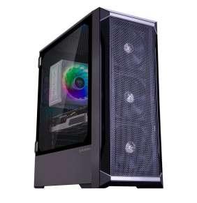 Zalman skříň Z8 / Middle tower / ATX / 4x120mm fan /
