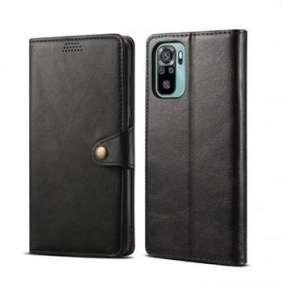 Lenuo Leather pro Xiaomi Mi Note 10, černé