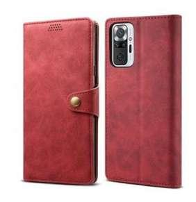 Lenuo Leather pro Xiaomi Mi Note 10 Pro, červené