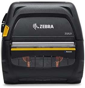 """Zebra ZQ521 - BT, WiFi,  media width 4.45""""/113mm"""