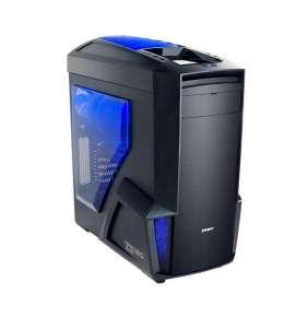 Zalman case miditower Z11 NEO, mATX/ATX, bez zdroje, USB3.0, modro-černá