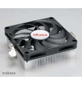 AKASA chladič CPU AK-CC1101EP02 pro AMD socket 754, 979, AMx, 80mm PWM ventilátor, pro mini ITX skříně