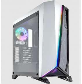 CORSAIR case SPEC-OMEGA RGB, Mid-Tower, Gaming case, průhledná bočnice, bez zdroje, bílá