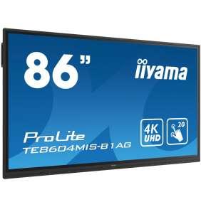 iiyama ProLite TE8604MIS-B1AG, 217.4 cm (85.6''), infrared, 4K, black, Android