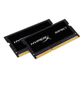 DDR 3  16 GB 2133MHz . SODIMM CL11 ..... Kingston HyperX Impact Black Series 1,35V (2x8GB)