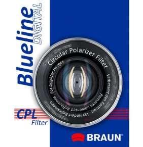 Braun C-PL BlueLine polarizační filtr 43 mm
