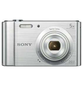 Sony Cyber-Shot DSC-W800 stříbrný,20,1M,5xOZ,720p