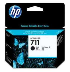 HP 711 Black DJ Ink Cart, 80 ml, CZ133A