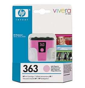 HP (363) C8775EE - ink. náplň light magenta,  PS 8250 originál