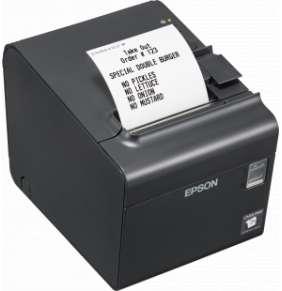 Epson TM-L90LF, 8 dots/mm (203 dpi), linerless, USB, RS232, black