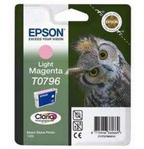 Epson inkoustová náplň/ C13T07964010/ StylusPhotoR1400/ Světlá Magenta
