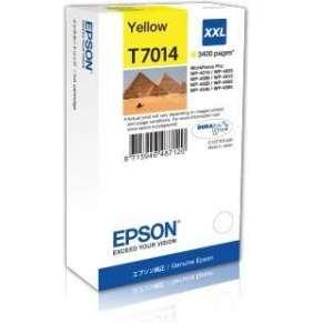 EPSON Ink bar WorkForce-4000/4500 - Yellow XXL - 3400str. (34,2 ml)