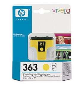 HP 363 - žlutá ink.kazeta, C8773EE
