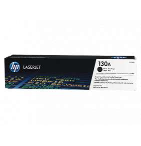 HP 130A Black LJ Toner Cart, CF350A