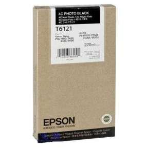 Epson T612 220ml 4C Photo Black